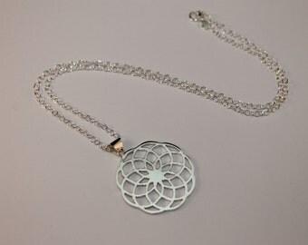 Atomic Bloom Pendant