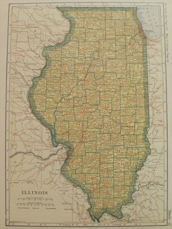 Illinois MapCity Maps Baltimore Detroit Chicago St Louis