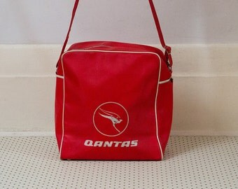 Collectable Qantas Airline Bag