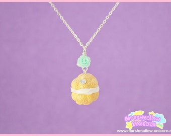 Necklace french dessert cute and sweet lolita fashion
