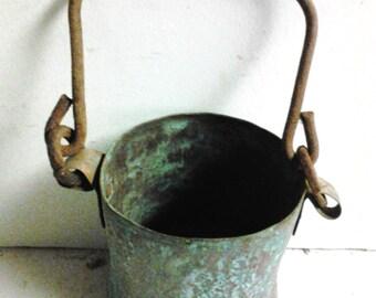 copper pail