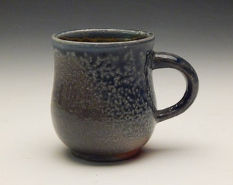 Grey Soda Fired Mug