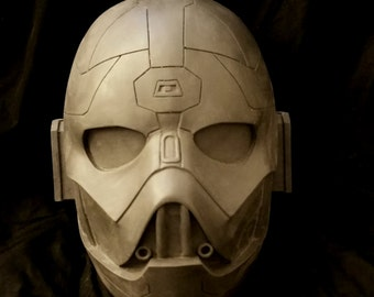 Sith Inquisitor Helmet Raw Cold Cast