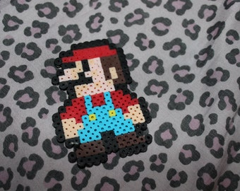 Mario 8-Bit Perler
