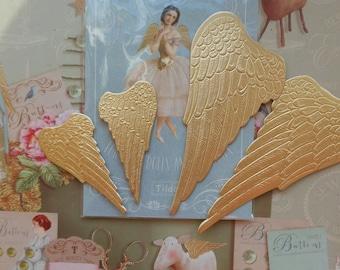 Tilda golden angel wings