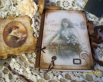 Nostalgia notebook, scrapbook