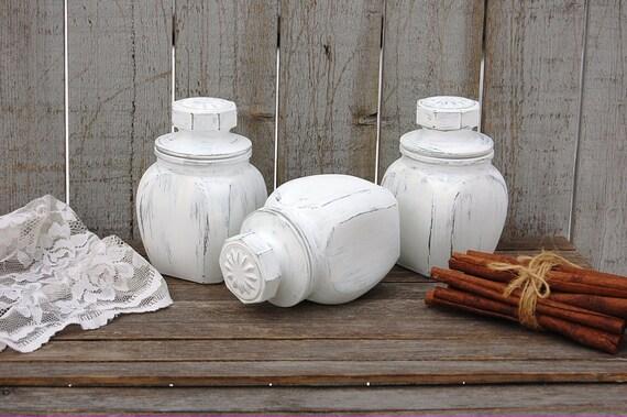 effetto shabby vasi : ... vetro, pressato a mano verniciato, effetto consumato, Shabby Chic