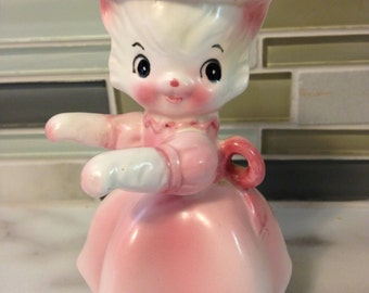 Vintage Kitty Figurine