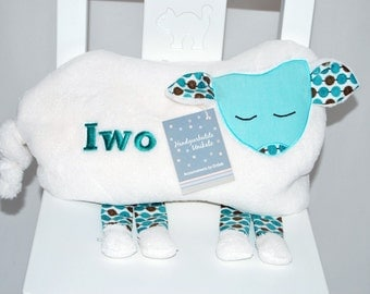 personalized pillow, Sheep