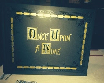 Once Upon A Time Replica Book FULL SIZE