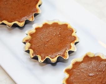 """Mini Pie, Sweet Potato Pie - 1 dozen of 3"""" mini pies"""