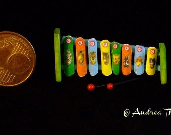 Miniature Xylophone 1/12 scale