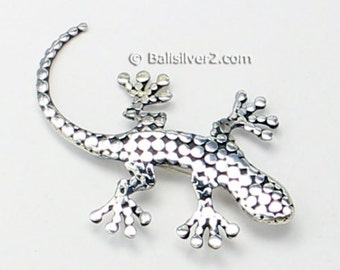 Vintage Sterling Silver Geicko  Broach Special