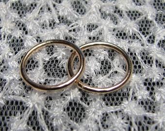 Pair of Basic Non Pierced Nipple Rings