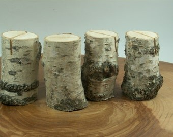 Birch Bark Rustic 80 Table Number, Wedding Table Numbers, Holiday Dinner Rustic  Christmas decor