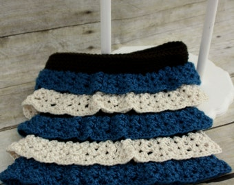 Crocheted Ruffled Skirt