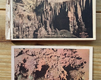 Great Onyx Cave, Kentucky Postcard Booklet