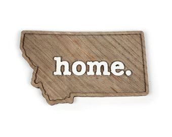 Montana home. Rough Cut Mill Wood Wall Hanging
