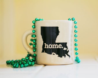 Louisiana home. Ceramic Coffee Mug