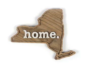 New York home. Rough Cut Mill Wood Wall Hanging
