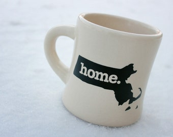 Massachusetts home. Ceramic Coffee Mug