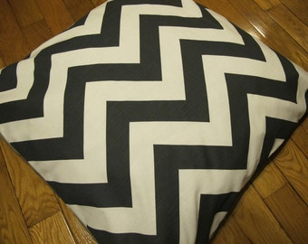 Floor Pillows With Washable Covers : Items similar to Large Reversible Dog Bed Cover - Suzani and Chevron - Stuff with 6 bed pillows ...
