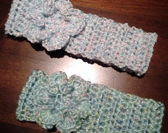 Baby Crocheted Flower Headband