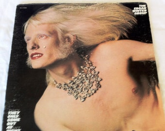 The EDGAR WINTER Group Vinyl Record 1972 They Only Come Out At Night - GREAT Condition