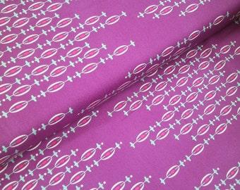 "0,5 m Printed fabric ""Utopia"" 114 cm w.  fuchsia Art Gallery"