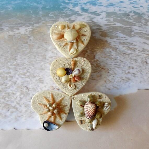 Beach Wedding Favor Boxes 4 Coastal Wedding Seashell