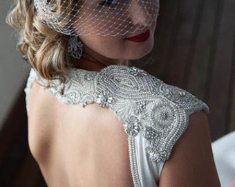 Wedding Dress Embellishment   - Shoulder Candy (Made to Order)
