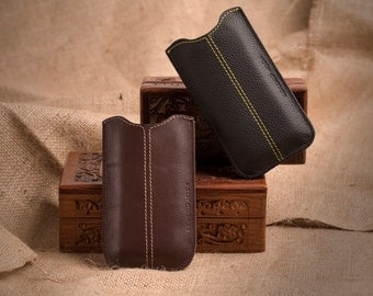 genuine leather case cover bumper MADE IN ITALY for for Iphone 4 e Iphone 4s