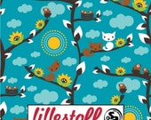 Lillestoff Spring Cats Cotton Knit