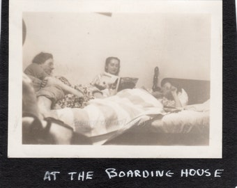 Vintage Photo ~ boarding house girls