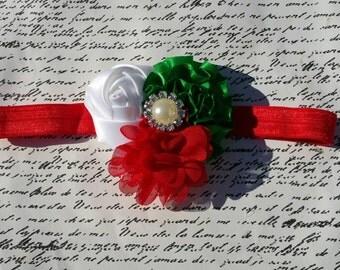 Christmas Themed Mini Cluster  Headband