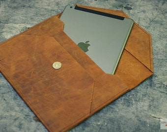Leather iPad Air 2 Case / Leather iPad Air 2 Sleeve / Leather iPad Air 2 Cover / Leather iPad Air 2 Organizer