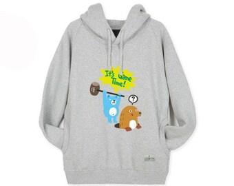 Hoodie Sweatshirts for Women Hooded Long Sleeve Shirt GAMETIME