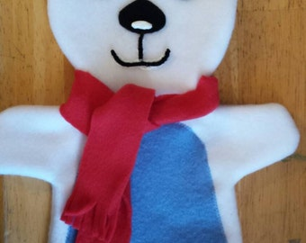 Polar Bear Hand Puppet