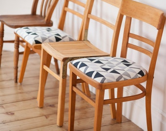 Mismatched Dining Chair Set