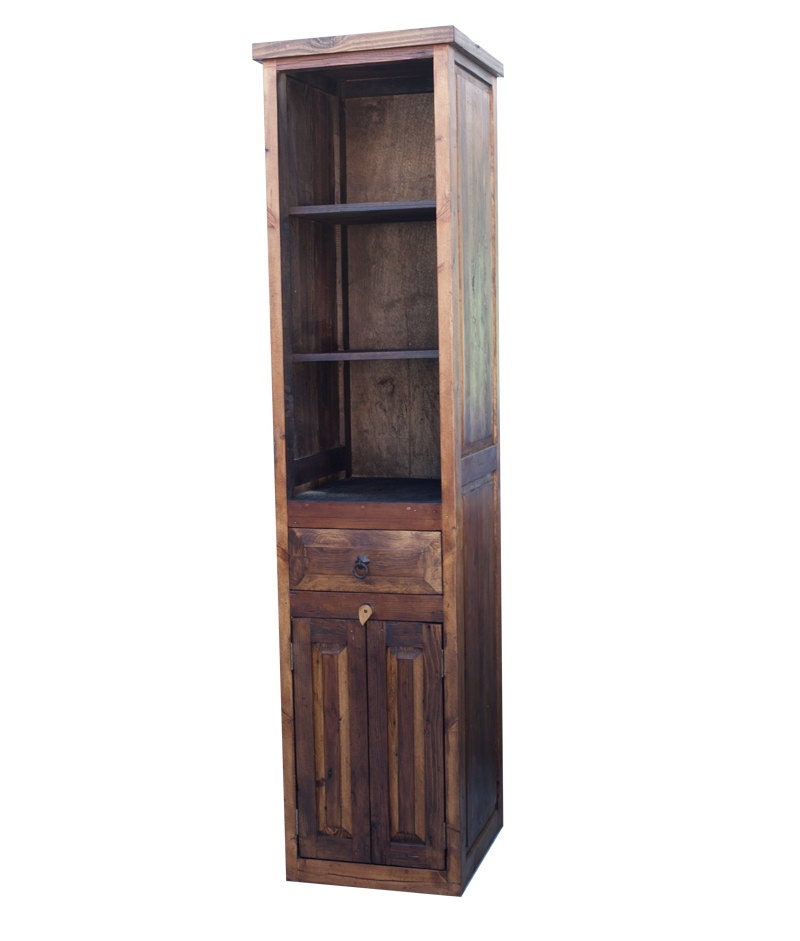 Rustic Linen Cabinet 15414 By Foxdendecor On Etsy