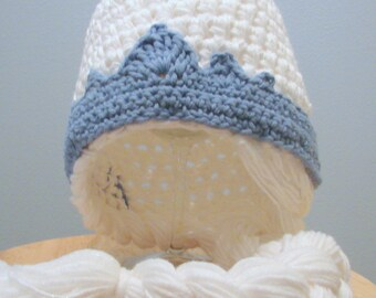 Ice Queen Hat with Side Braid [Elsa inspired]