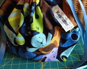 Happy Dog Mix: Compact Sock Ditty Project Bag