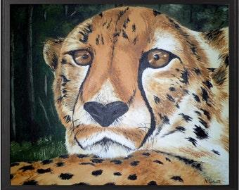 3' x 4' Cheetah in da Jungle