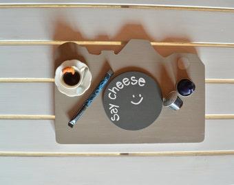 Wooden camera tray