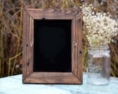 "Rustic Chalkboard  8""x10"", Rustic Chalkboard, Rustic Wedding, Gift Ideas, Unique Gift, rustic blackboard, Christmas present, gift for women"
