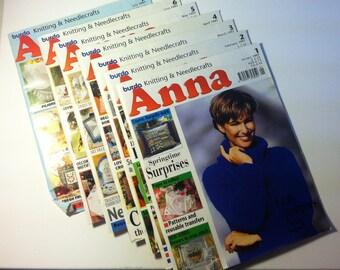 Anna, Creative Needlework and Crafts.  January through December 1997