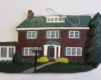 Custom made house ornament