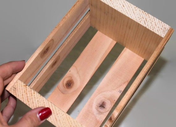 Small Centerpiece Crates : Set of small wood crates crate for storage centerpieces