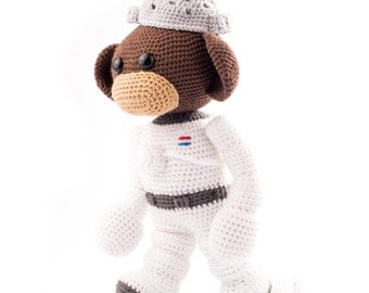Amigurumi pattern Space Monkey