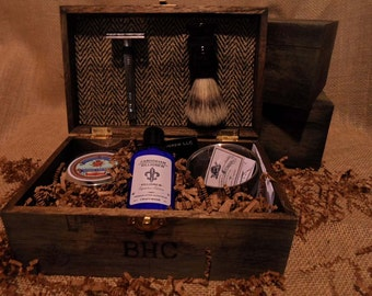 Unique Groomsmen Gift Box - Shave Kit for Groomsmen